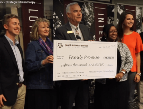 Family Promise Mays School of Business Award