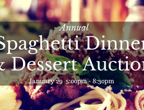 Spaghetti Dinner & Dessert Auction