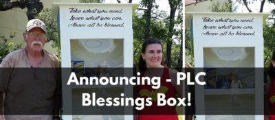 Announcing - PLC Blessings Box