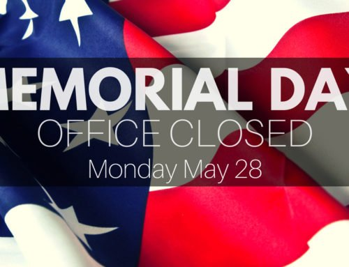 Office Closed Memorial Day
