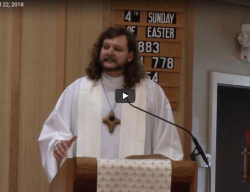 Sermon – April 22