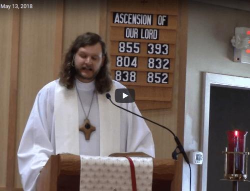 Sermon – May 13