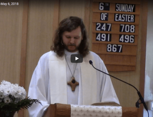 Sermon – May 6