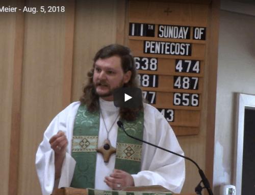 Sermon – Aug 5