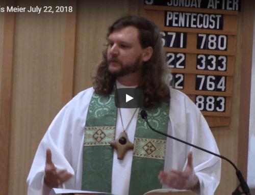 Sermon – July 22