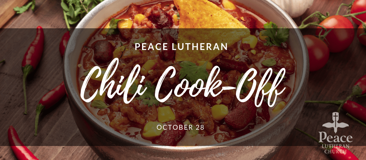 Chili Cook-Off October 28
