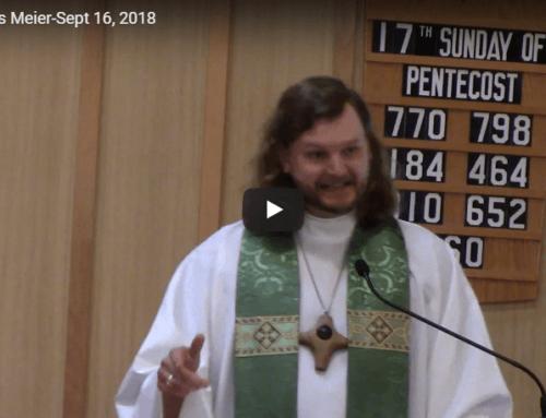 Sermon – September 16