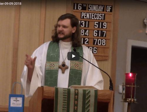 Sermon Sept 9