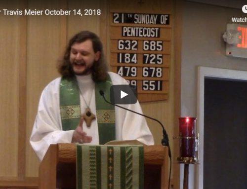 Sermon – October 14