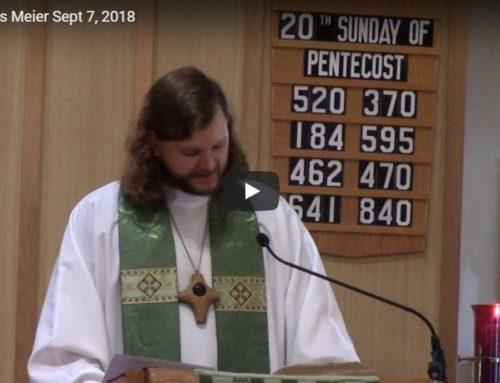Sermon – Oct 7