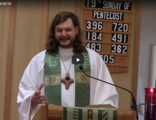 Sermon – September 30