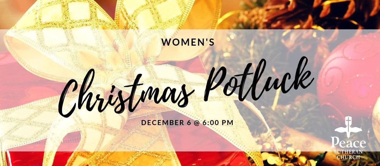 Womens Christmas Potluck