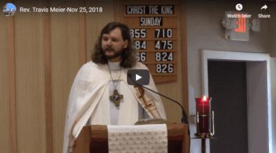 Sermon - November 25