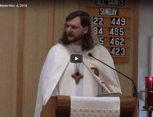 Sermon – November 4