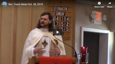 Sermon - October 28, 2018