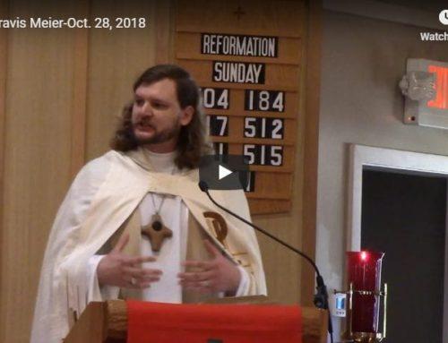 Sermon – Oct 28