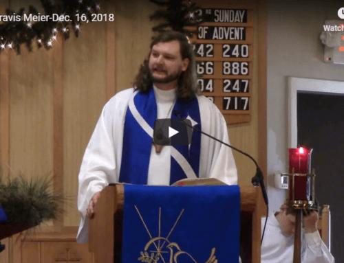 Sermon – December 16