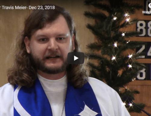 Sermon – December 23