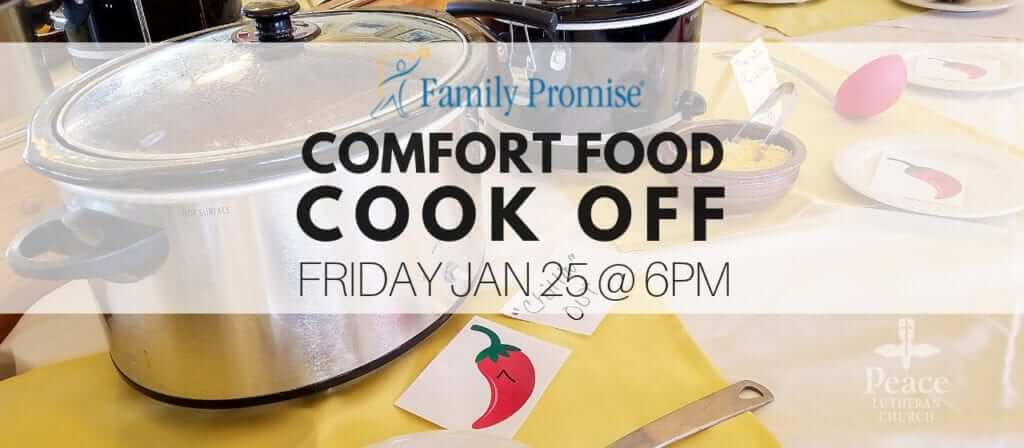 Family Promise Comfort Food Cook Off