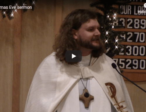 Sermon – December 24