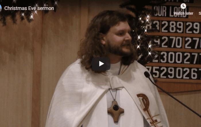 Sermon Christmas Eve 2019