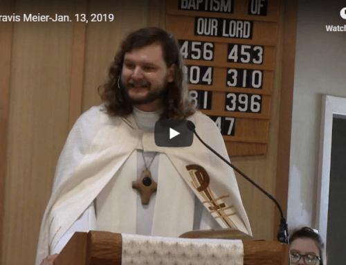 Sermon – January 13