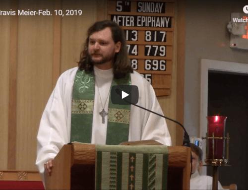 Sermon – February 10