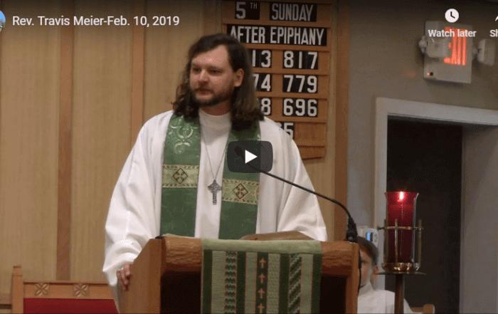 Sermon February 10, 2019