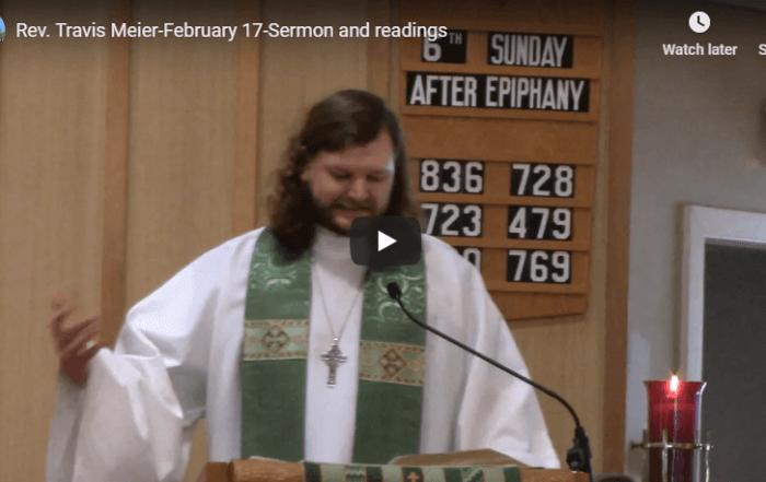 Sermon February 17