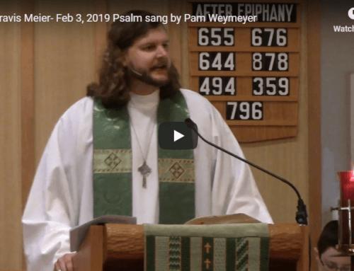 Sermon – February 3