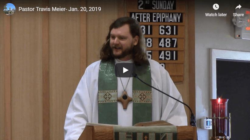 Sermon Jan 20