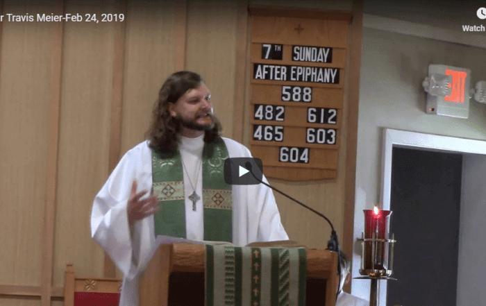 Sermon February 24
