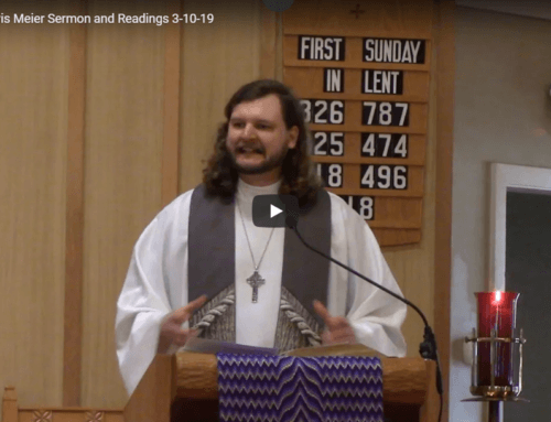 Sermon – March 10