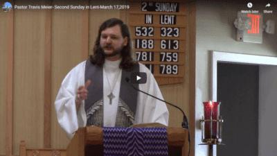 Sermon - March 17