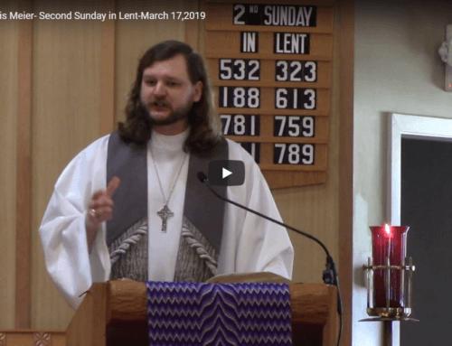 Sermon – March 17
