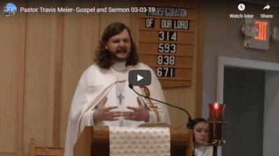 Sermon March 3