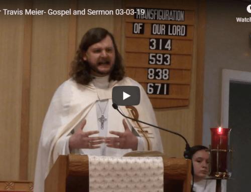 Sermon – March 3