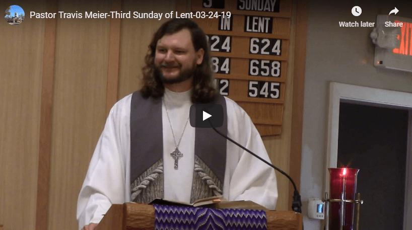 Sermon March 24
