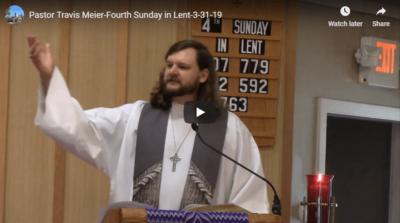 Sermon March 31