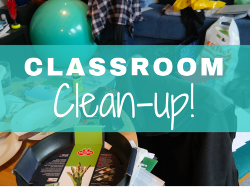 Peace Classroom C-1 Clean-up