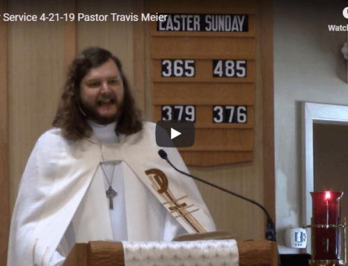 Sermon – April 21