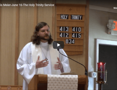 Sermon – June 16