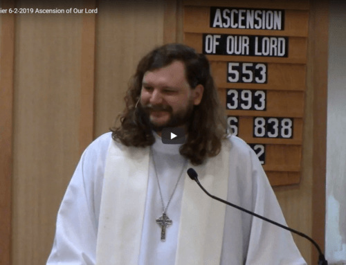 Sermon – June 2