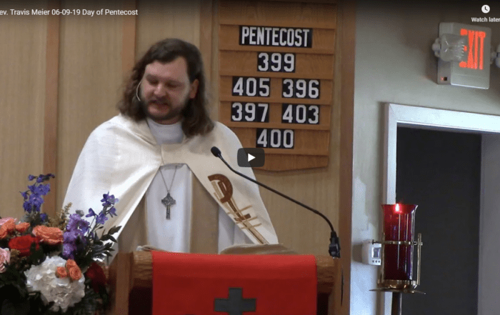 Sermon - June 9