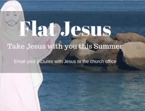 Send In Flat Jesus Pictures