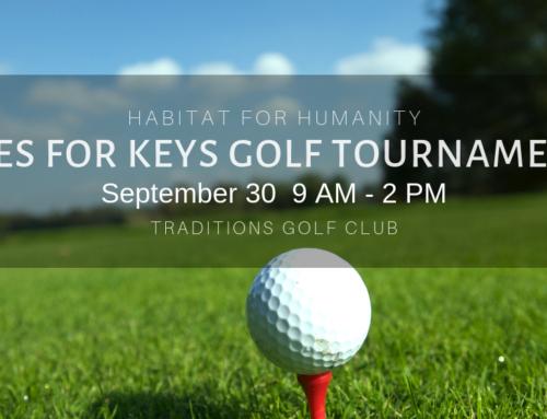 Tees for Keys B/CS Habitat for Humanity Golf Tournament