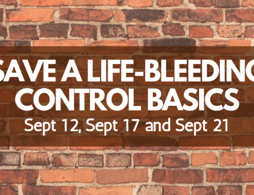 Save A Life – Bleeding Control Basics