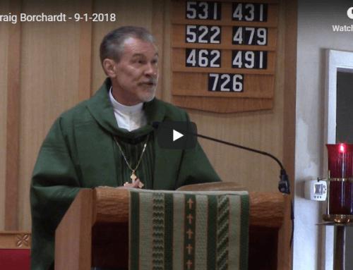Sermon – September 1
