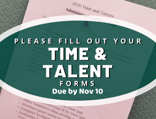 Time and Talents Info 2019
