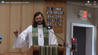 Sermon September 23